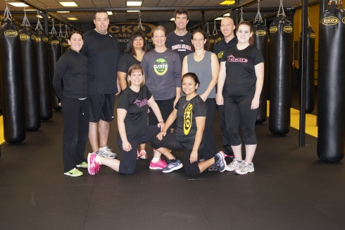 "First ever CKO Seattle Bootcamp ""after"" photo."