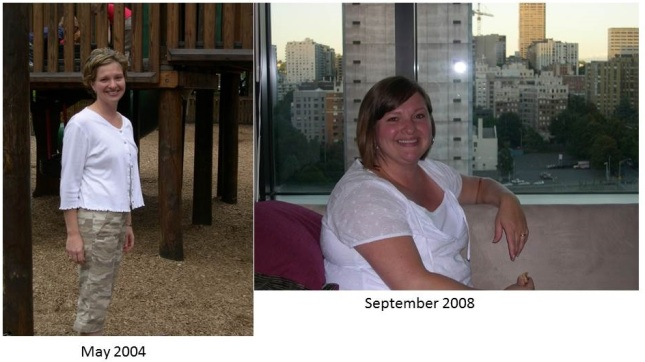 Tanya in 2002 and then in 2008