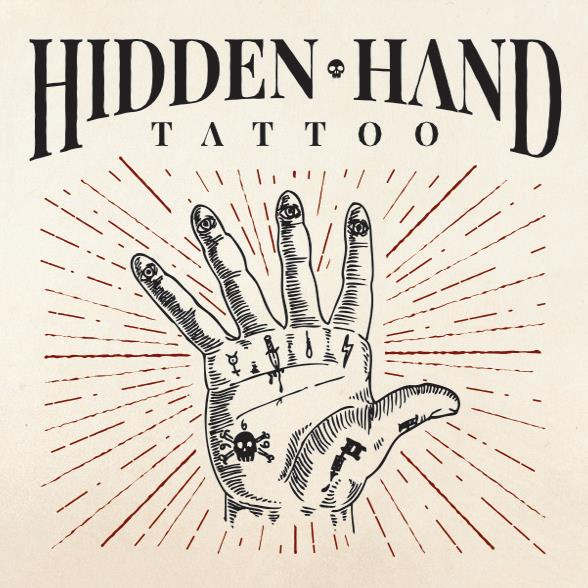 Hidden hand tattoo