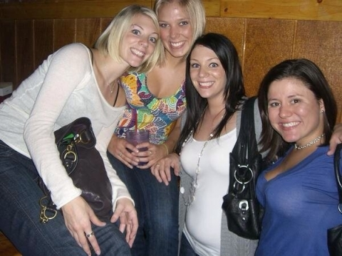 Before CKO. Erin (second from right)