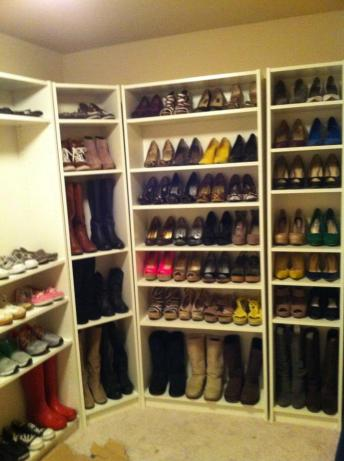 Now that is a shoe collection.