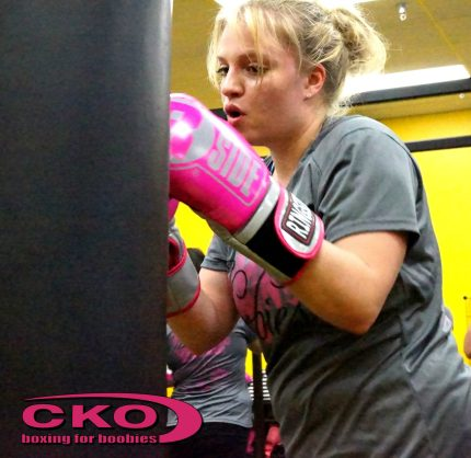 Tanya at Boxing for Boobies (Oct 2013)