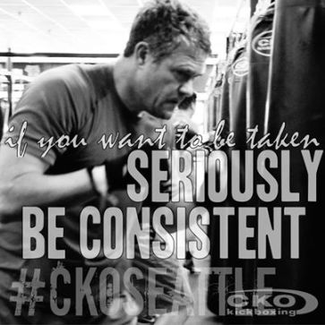 Stop talking and take consistent action!